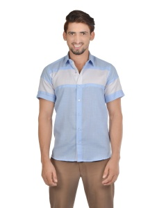 S9 Men Solid Casual Party Cotton Blend Shirt For Men