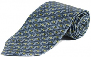 UNICARRESS Geometric Print Men's Tie (Blue) RA-TY-105D