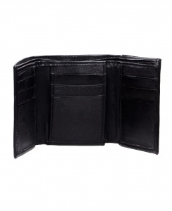 Uni Carress Casual & Formal Faux Leather Wallet For Men (Black) uc-mw-02