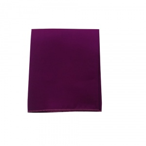 UNICARRESS Men Microfibre- Polyester falsa Plum pocket square RA-PS-128