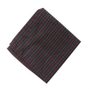 UNICARRESS Men Microfibre- Polyester Gingham Multi Pocket Square RA-PS-131