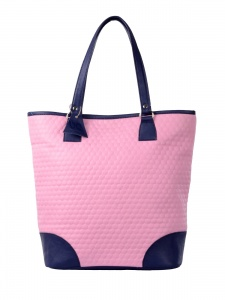 Women Stylish Pink & Black Handbag (UC-W-HB-15-016E)