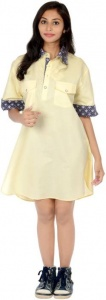 S9 Fashion Women's Shirt Yellow Dress_S9-W-DD-210_Yellow