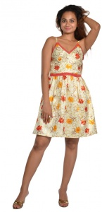 Summerish Springster (yellow) Dress zinn-DRS-2x01