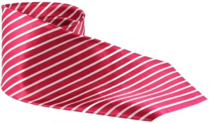UNICARRESS Striped Men's Tie (Red) RA-TY-101B