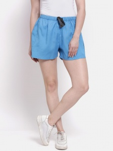 Sporty Look Stylish Cotton woven shorts for women of all ages(Z-DS-001F)