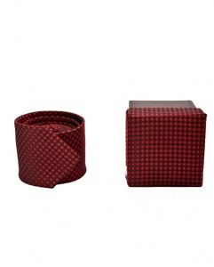 UNICARRESS Gift Box Ties - For Someone U Love - UC-TYgiftBox-01M/Maroon