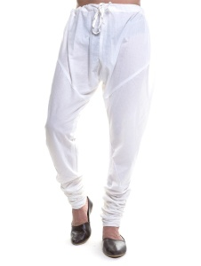 S9 Men Churidaar Pyjama #S9-M-CHURIBTM-WHITE