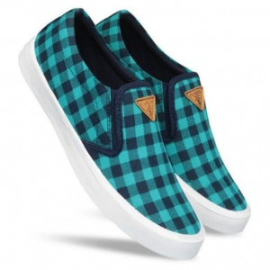 Designer Check Canvas Shoes for men (DU-DS-02)