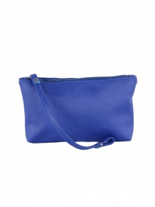Multipurpose  Faux Leather Blue Pouch ( UC-MP-01G)