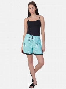 Cute sleepwear / Night Shorts featuring Shorts for relaxed fit(SC-shorts-20202A)/BLUE
