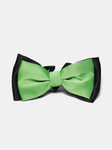 Leaflet Greenish Neck Bow UC-NB-207