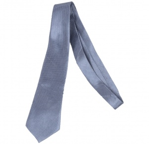 UNICARRESS Polka Print Men's Tie (Grey) RA-TY-123B