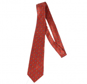 UNICARRESS Polka Print Men's Tie (Red) RA-TY-125B