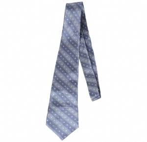 UNICARRESS Striped Men's Tie (Grey) RA-TY-122A