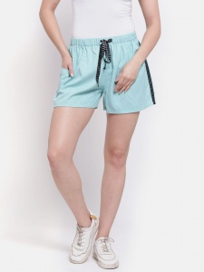 Sporty Look Stylish Cotton woven shorts for women of all ages (Z-DS-001i)