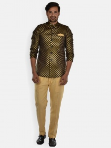 Men Designer Indo Weatern Set (S9-IWS-JAQ-2020 1 B)