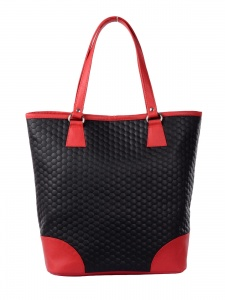 Women Stylish Black & Red Handbag (UC-W-HB15-016_C)