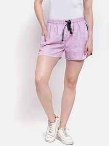 Zinniars Sporty Look Stylish Cotton woven shorts for women of all ages  (Z-DS-001H)