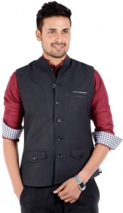 ForgeKo Black Nehru Black (FO-M-WC-ECO-7)