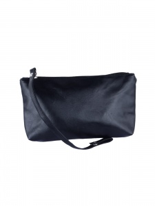 Multipurpose  Faux Leather Black Pouch ( UC-MP-01i_A)
