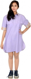 S9 Fashion Women's Shirt Purple Dress_S9-W-DD-212_Purple