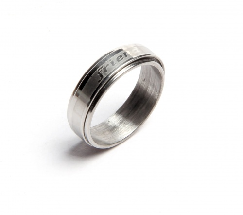 UNICARRESS Artificial Metal Based Unisex Ring