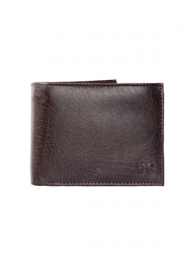 UniCarress- 6 Card Slots Casual & Formal Brown Artificial Leather Wallet For Men (Brown) UC-MW-021