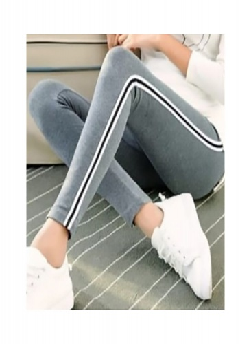 Stylish Elegant Knitted Jegging For Women Free size in Steel GreyColor(DU-FC-JEG-001C)