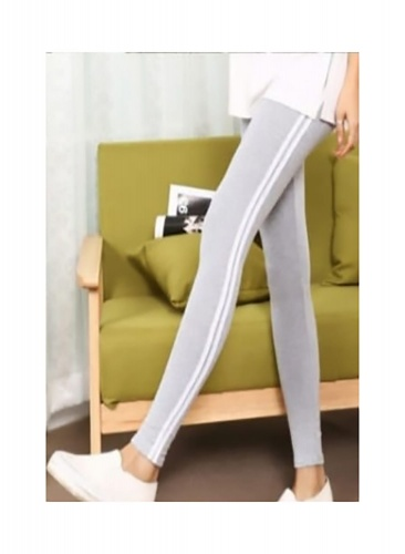 Stylish Elegant Knitted Jegging For Women Free size in Light GreyColor(DU-FC-JEG-001D)