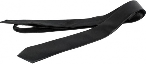 UniCarress Solid Men's Tie (Black) CARMA-TY-204