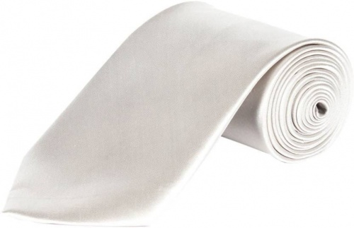 UniCarress Solid Men's Tie (Siver) Carma-Ty-313