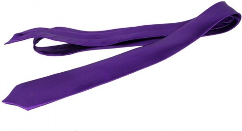 UniCarress Solid Men's Tie (Purple) CARMA-TY-203