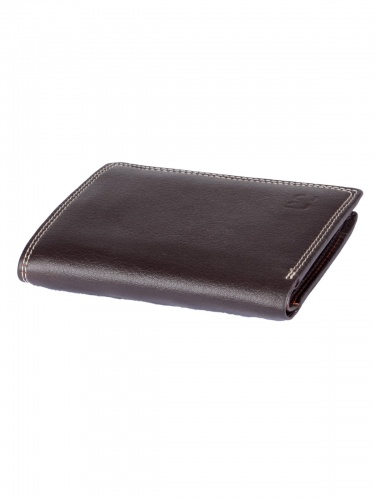 Men, 6 Card Slots Casual & Formal Black Artificial Leather Wallet For Men (Brown) UC-MW-019