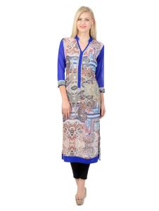 Add glamour to your wardrobe with print kurtis